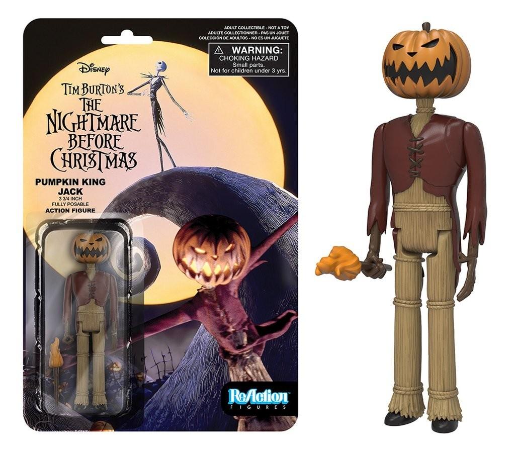 Nightmare Before Christmas - Pumpkin King Jack - Funko Reaction ...