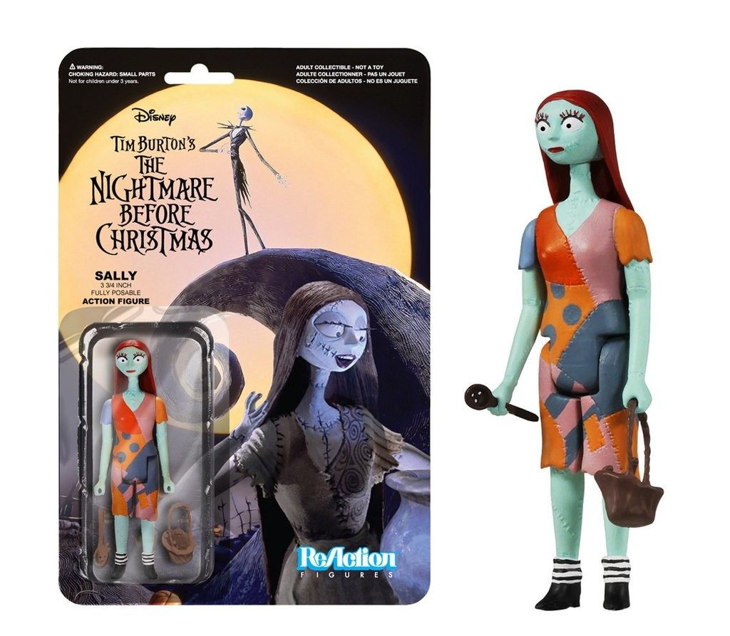 Nightmare Before Christmas - Sally - Funko Reaction Figures