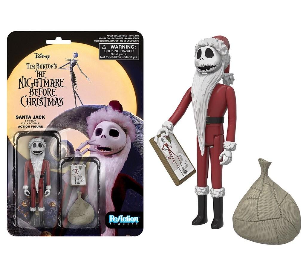 Nightmare Before Christmas - Santa Jack - Funko Reaction Figures 7724