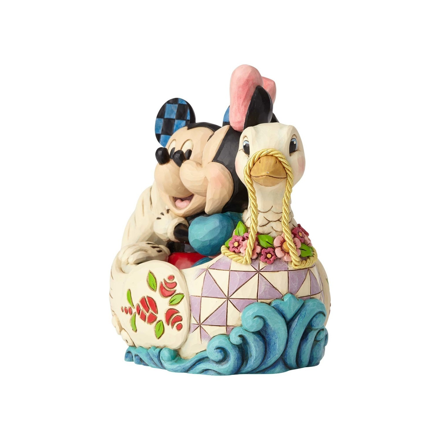 Lovebirds - Mickey and Minnie in Swan - Disney Characters by Jim ...