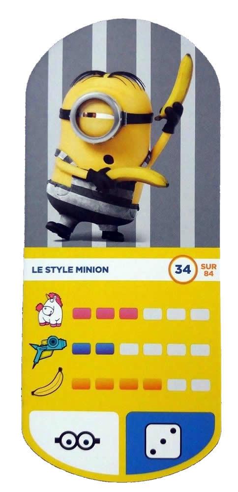 Carte Auchan Minion.Le Style Minion Cartes Auchan Moi Moche Et Mechant 3 34