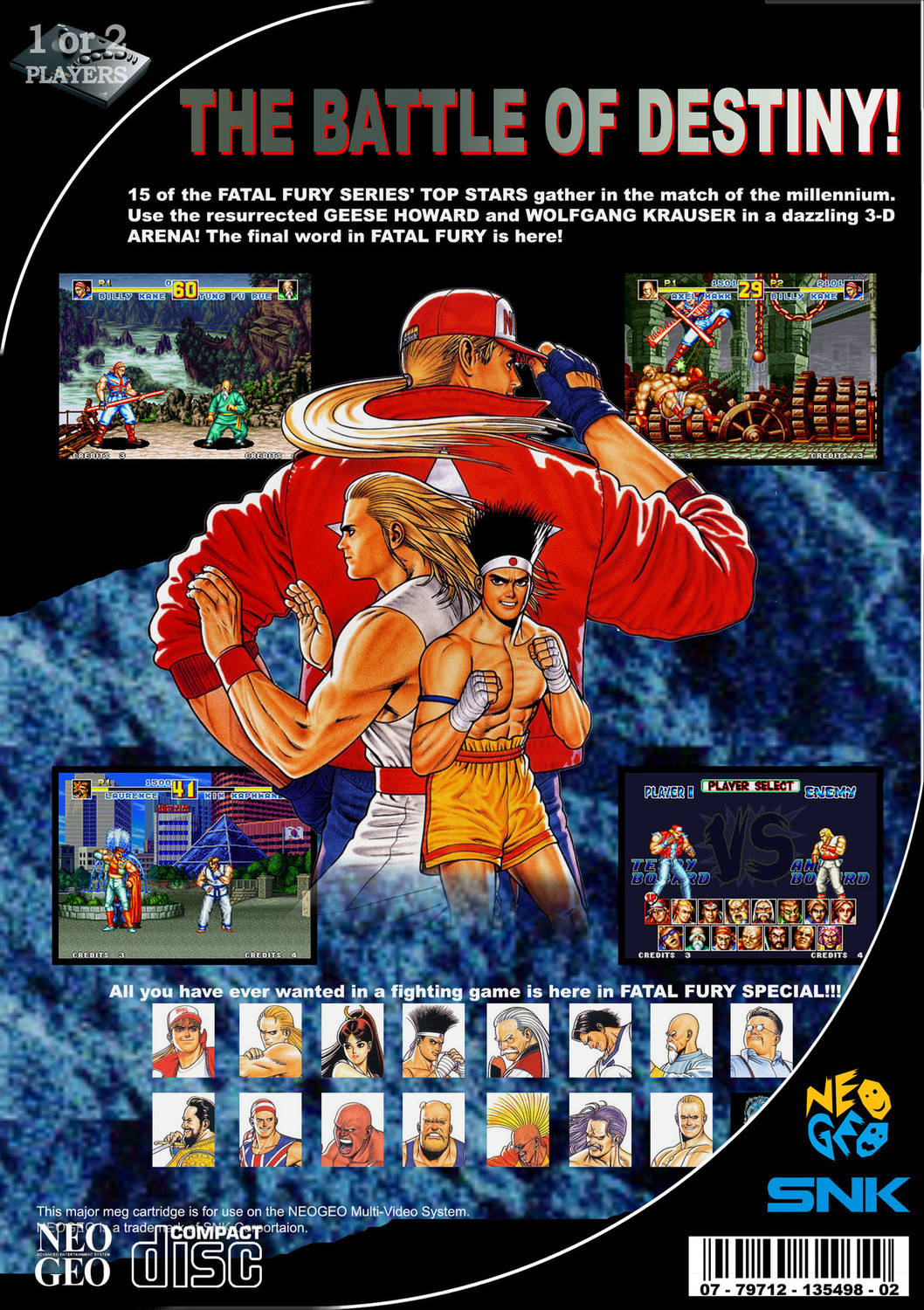 Fatal Fury Special - NEO-GEO AES game