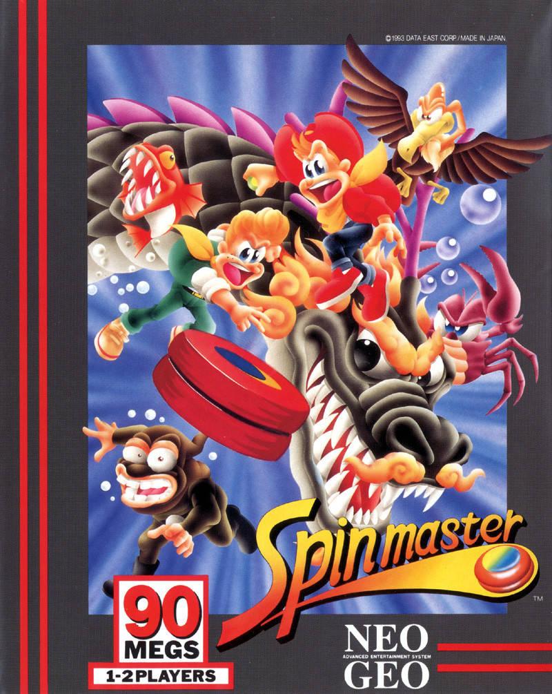 Votre jeu préféré par console de quatrième génération? - Page 3 Neo-geo-spinmaster