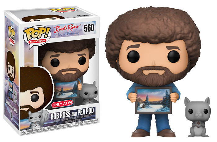 The Joy Of Painting Bob Ross And Pea Pod Pop Television