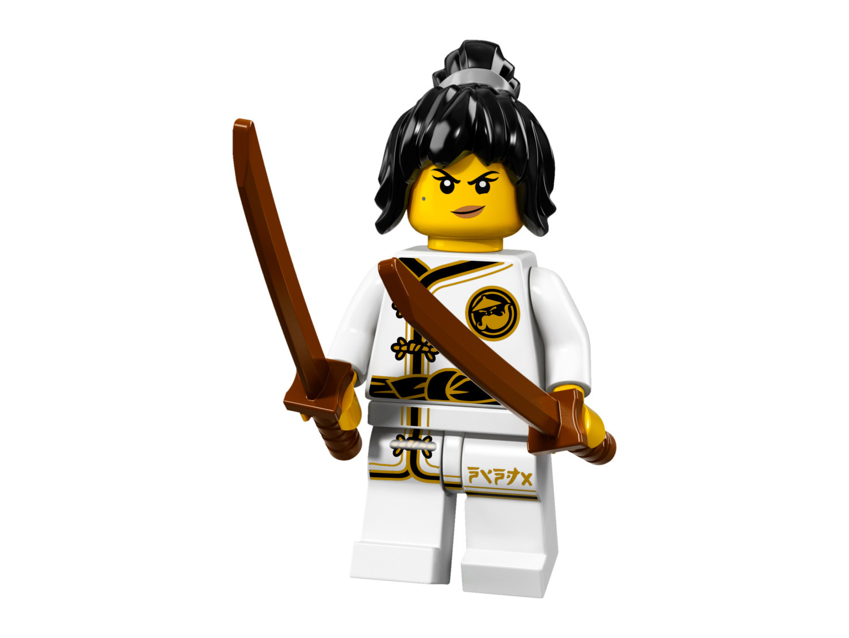 Spinjitzu Training Nya Lego Minifigures Ninjago Movie Set 71019