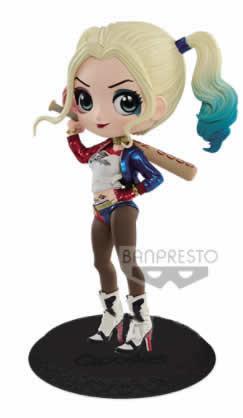 Harley Quinn Basic Color Q Posket Heroes Action Figure