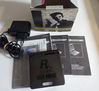 Game Boy Advance Sp Rockstar Edition Max Payne Game Boy Advance Sp