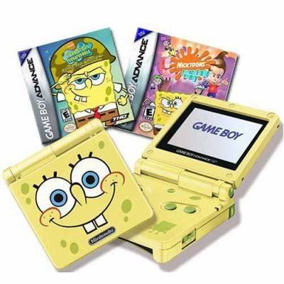 Game Boy Advance Sp Toys R Us Spongebob Squarepants Game Boy