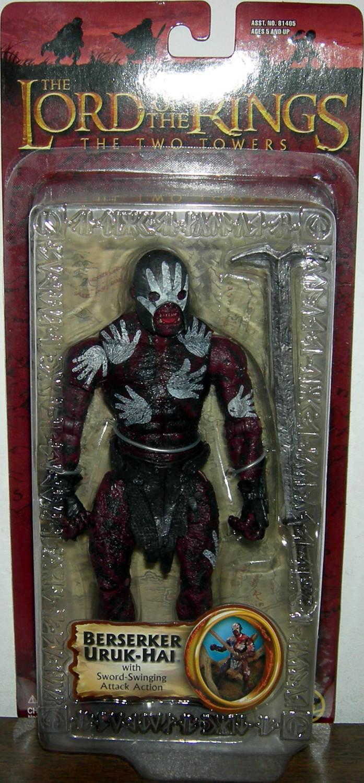 Figurine Seigneur des Anneaux Uruk Hai à Arbalète Lord of Rings EAGLEMOSS Figure