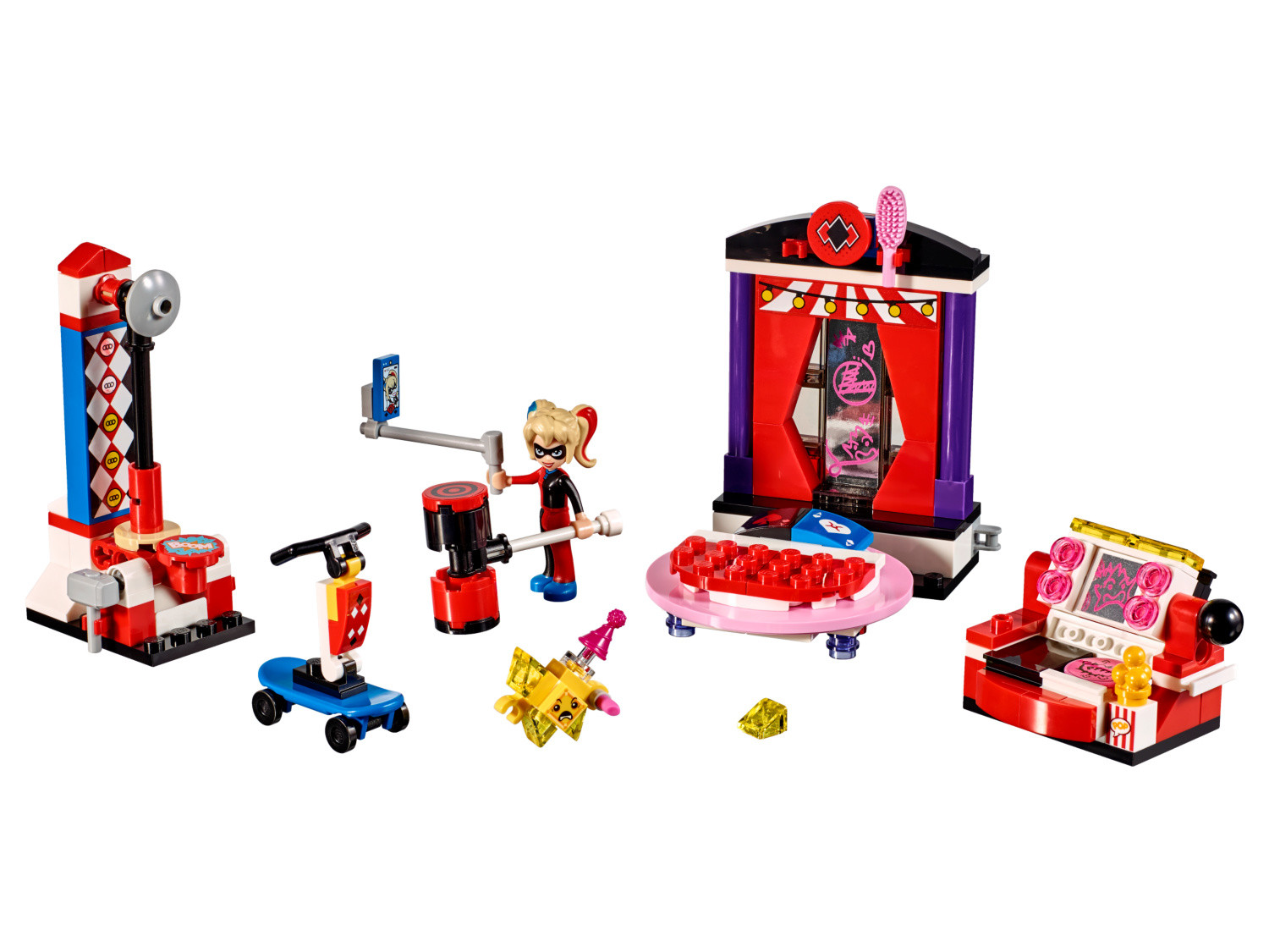 Harley Quinn Dorm Lego Dc Super Hero Girls Set 41236