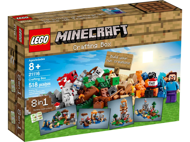 Crafting Box Lego Minecraft Set 21116 21133 The Witch Hut