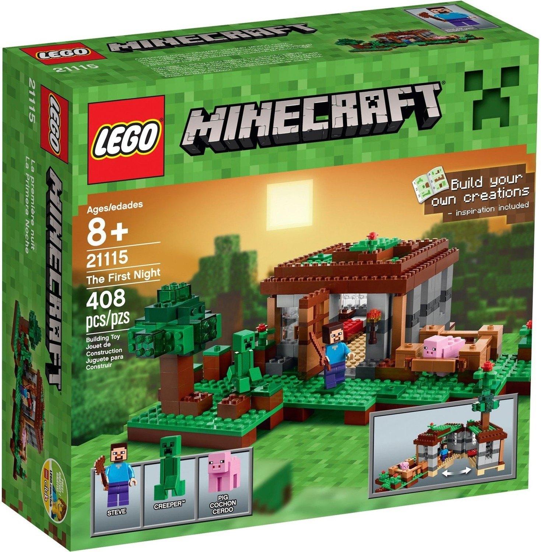 The First Night Lego Minecraft Set 21115 21124 End Portal