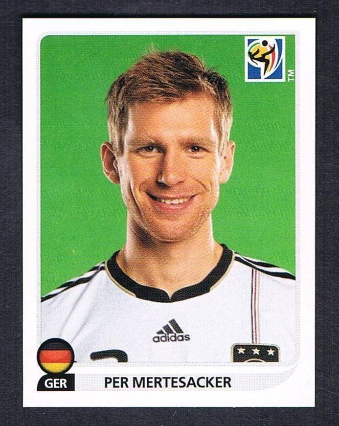 262 Per Mertesacker Deutschland No Panini World Cup 2010