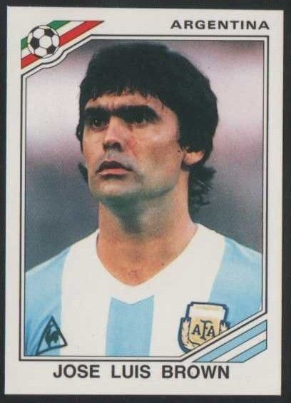 mexico-86-world-cup-jose-luis-brown-argentine-078 Footballers who played their last game this year - Part 2