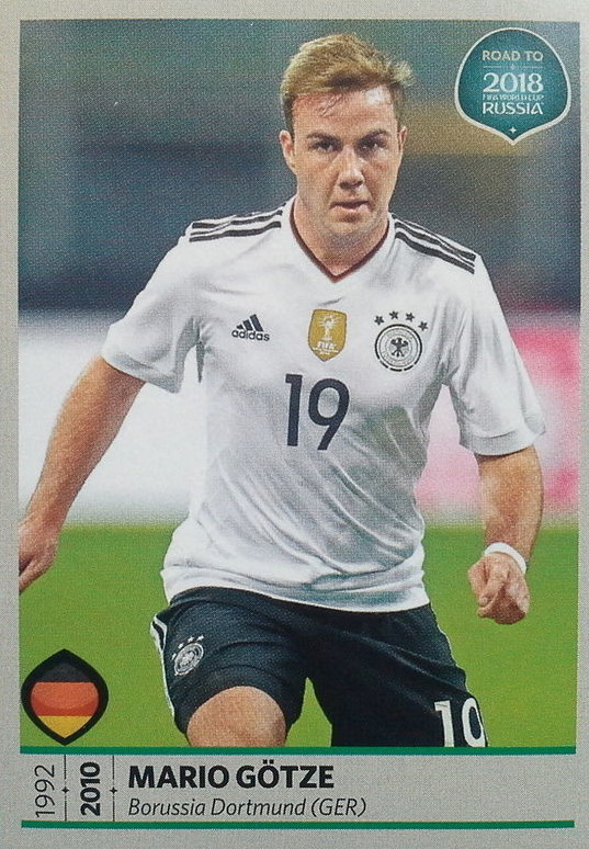 new products fb969 51d23 Mario Götze - Germany - Road to 2018 - FIFA World Cup Russia 111