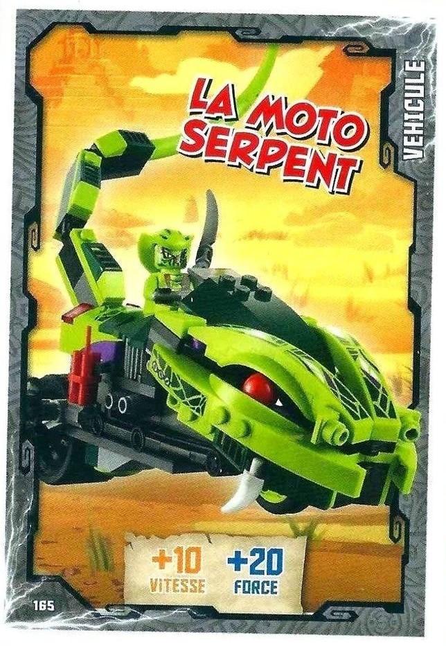 La 165 Moto Serpent Lego Cartes Ninjago HIeW9ED2Y