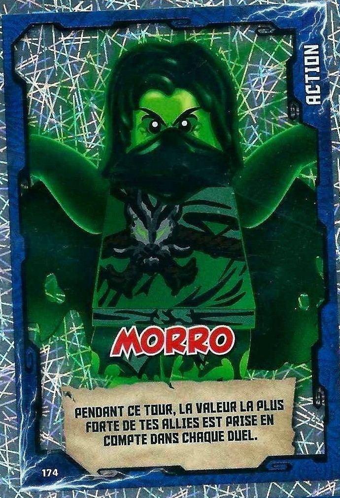 Morro Lego Ninjago 174 Cartes Cartes Morro m8N0nOvw