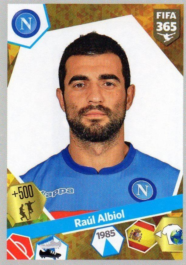 Maillot Domicile Napoli RAUL ALBIOL
