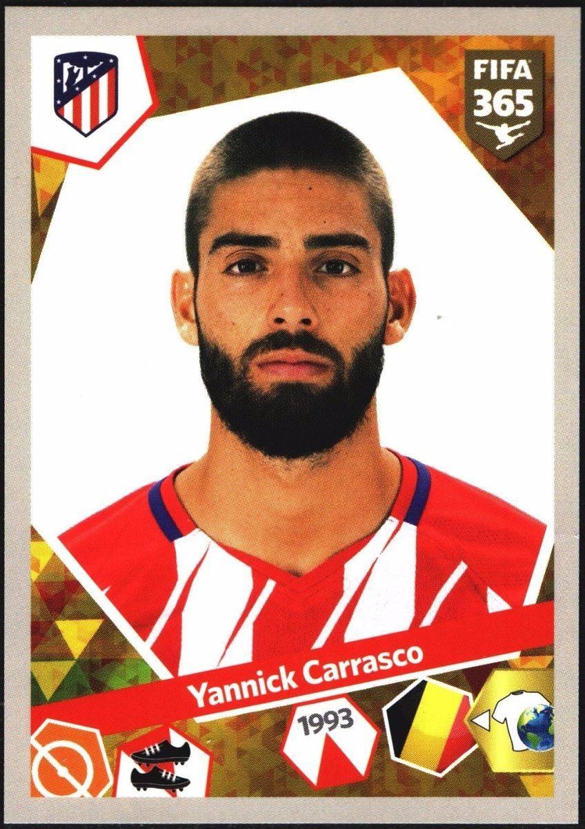 Yannick Carrasco Atlético de Madrid Fifa 365 2018