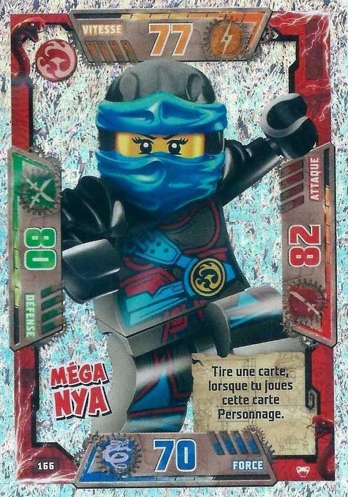 Verte Vide Tin NEUF Lego Ninjago série 4 TCG 10 Booster = 50 cartes de collection