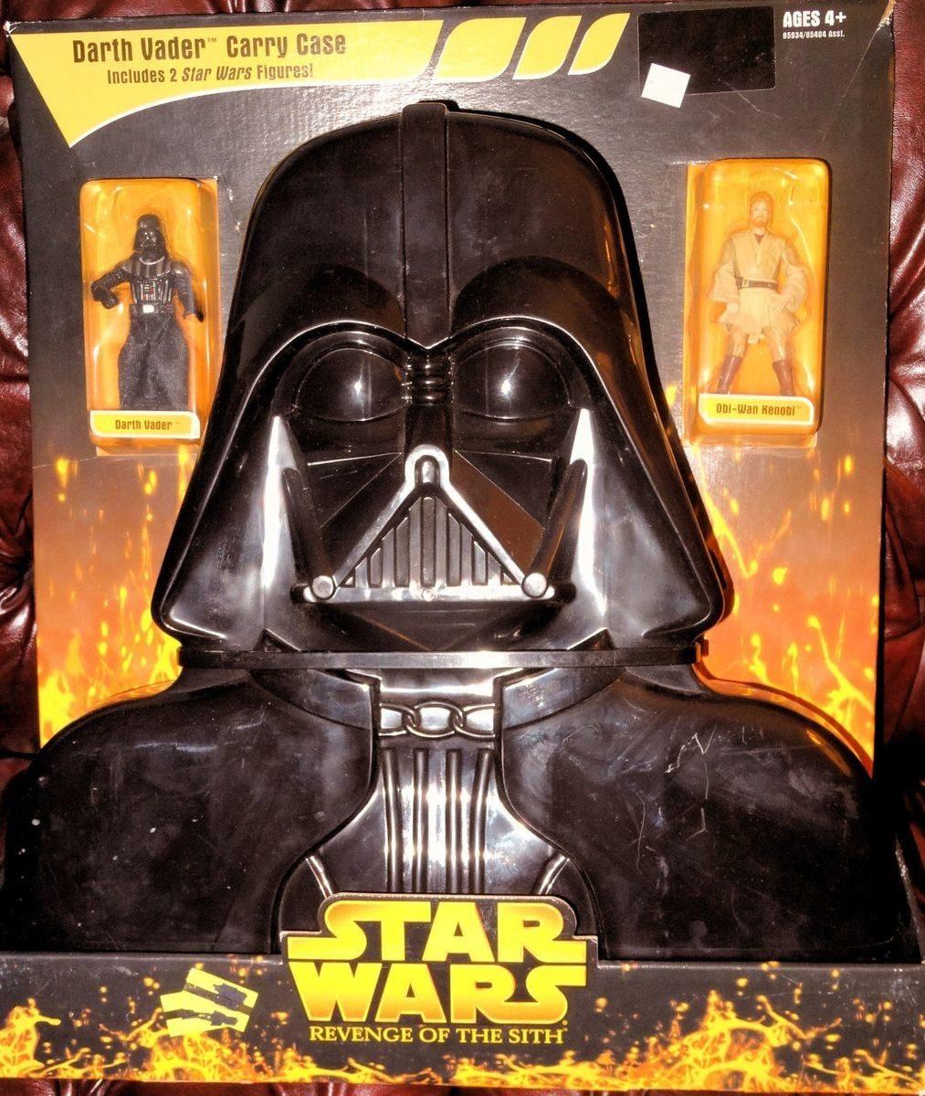 Darth Vader Carry Case Vader Kenobi Revenge Of The Sith Action Figure