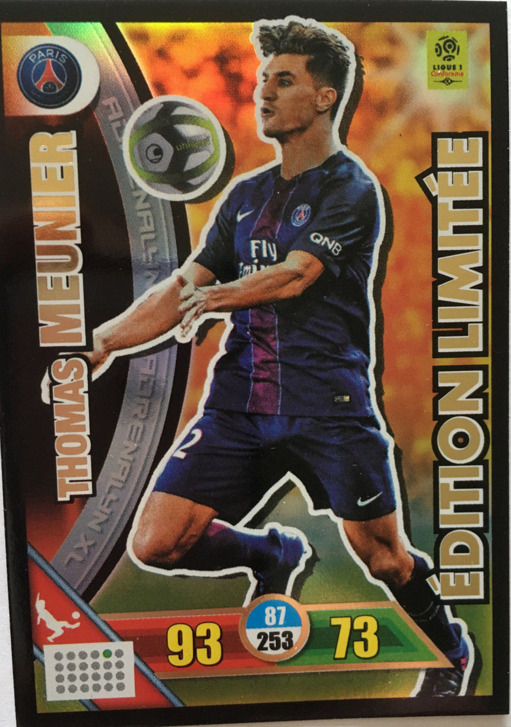 Maillot THIRD Paris Saint-Germain Thomas MEUNIER