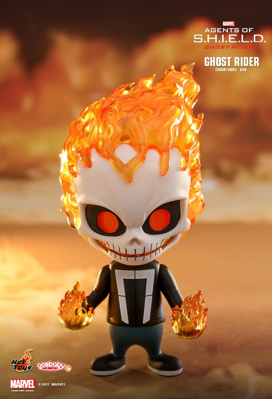 Ghost Rider with Hellfire Chain Cosbaby Hot Toys COSB401 Agent.s of S.H.I.E.L.D