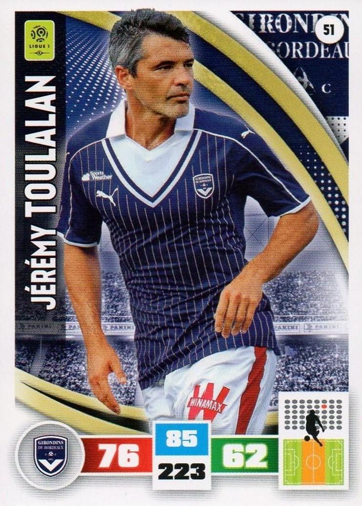 NICOLAS MAURICE-BELAY # GIRONDINS BORDEAUX CARD PANINI ADRENALYN 2012