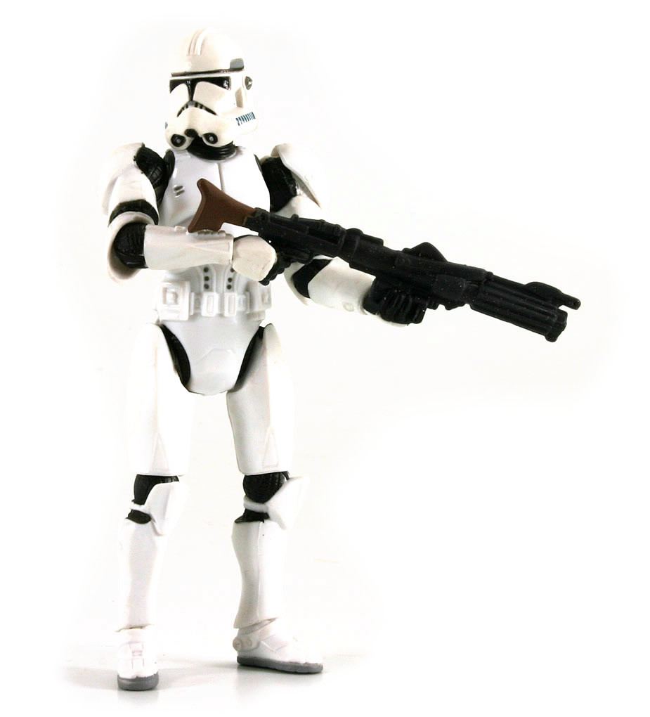 Clone Trooper Quick Draw Action Revenge Of The Sith Action Figure Iii 06
