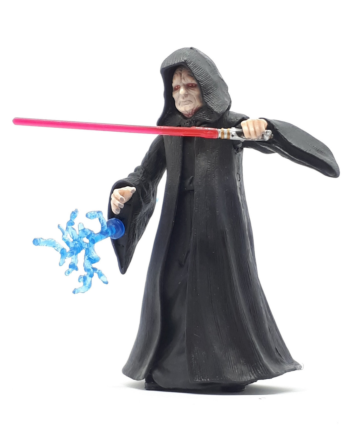 Emperor Palpatine Firing Force Lightning Revenge Of The Sith Action Figure Iii 12
