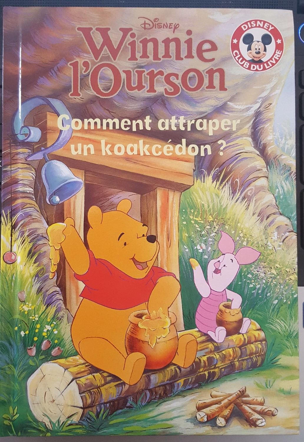 Winnie L Ourson Comment Attraper Un Koakcedon Mickey