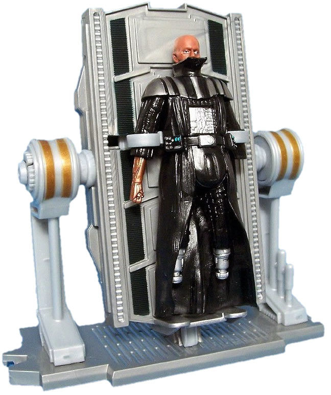 Darth Vader Rebuild Darth Vader Revenge Of The Sith Action Figure