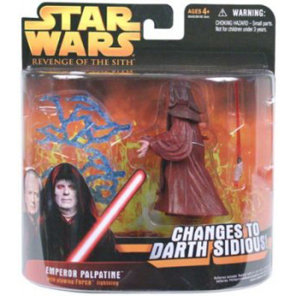 Emperor Palpatine Changes To Darth Sidious Revenge Of The Sith Action Figure