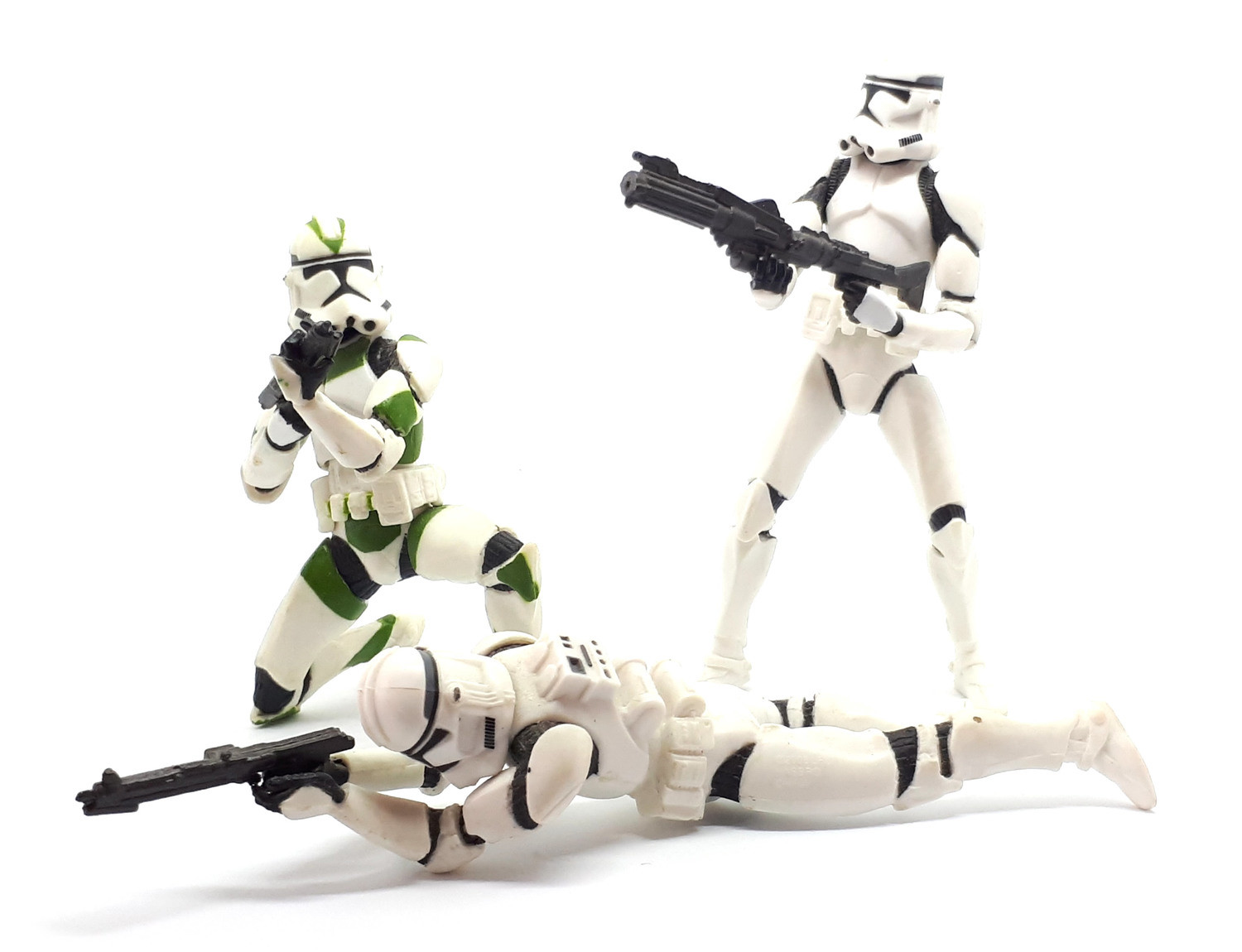 Clone Trooper Army With Clone Sergeant Green Revenge Of The Sith Action Figure
