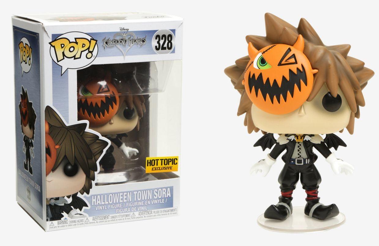 Kingdom Hearts - Halloween Town Sora - POP! Disney action figure 328