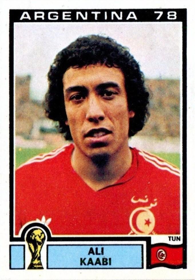 Ali Kaabi Tunis Argentina 78 World Cup 158