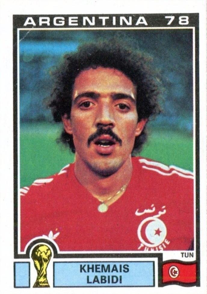 Khemais Labidi Tunis Argentina 78 World Cup 160