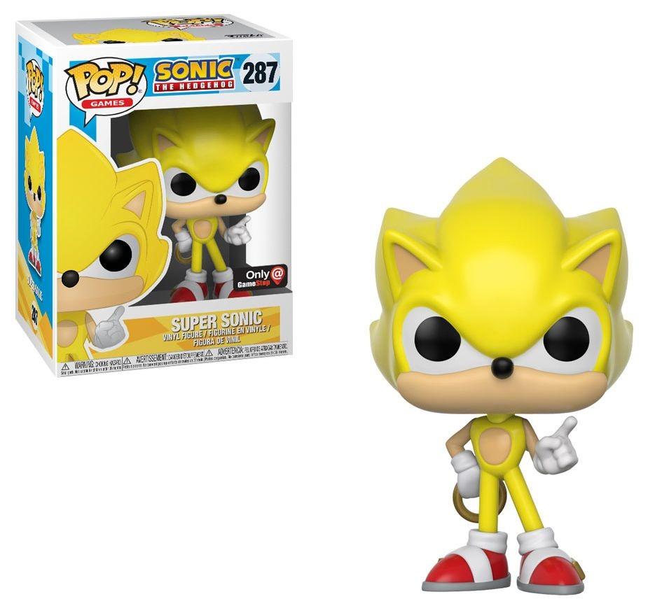 Sonic the Hedgehog - Super Sonic - POP! Games action figure 287