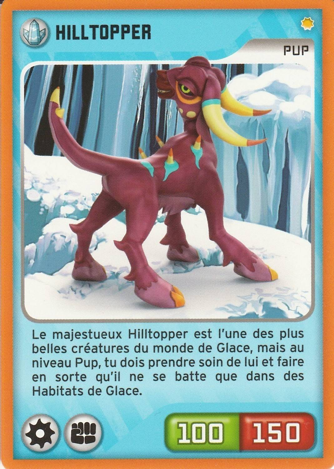 Cartes A L Unite Collections Carte Invizimals Nouvelle Alliance Hilltopper N 053 Pec Nu