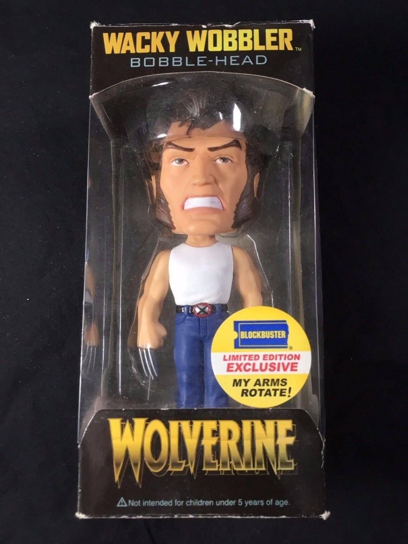 FunKo Free Shipping! Wolverine Wacky Wobbler X-Men