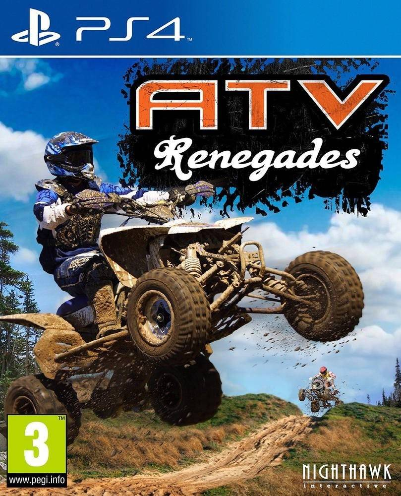 Atv Renegades Playstation 4 Ps4 Game Sony Attack On Titan