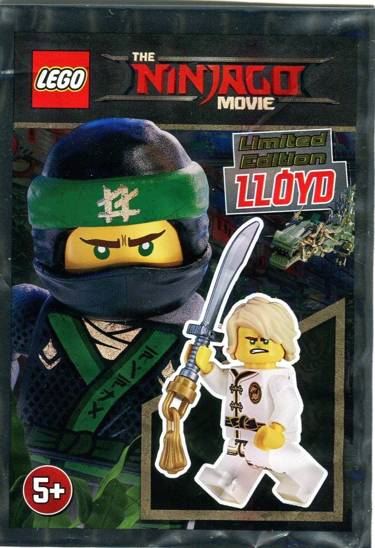 Lloyd (Limited Edition) - The LEGO Ninjago Movie set