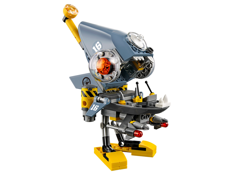 Piranha Attack - The LEGO Ninjago Movie set 70629