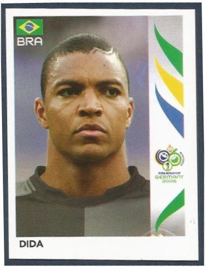 PANINI 378 équipe Brésil Fifa Coupe du Monde 2006 Germany