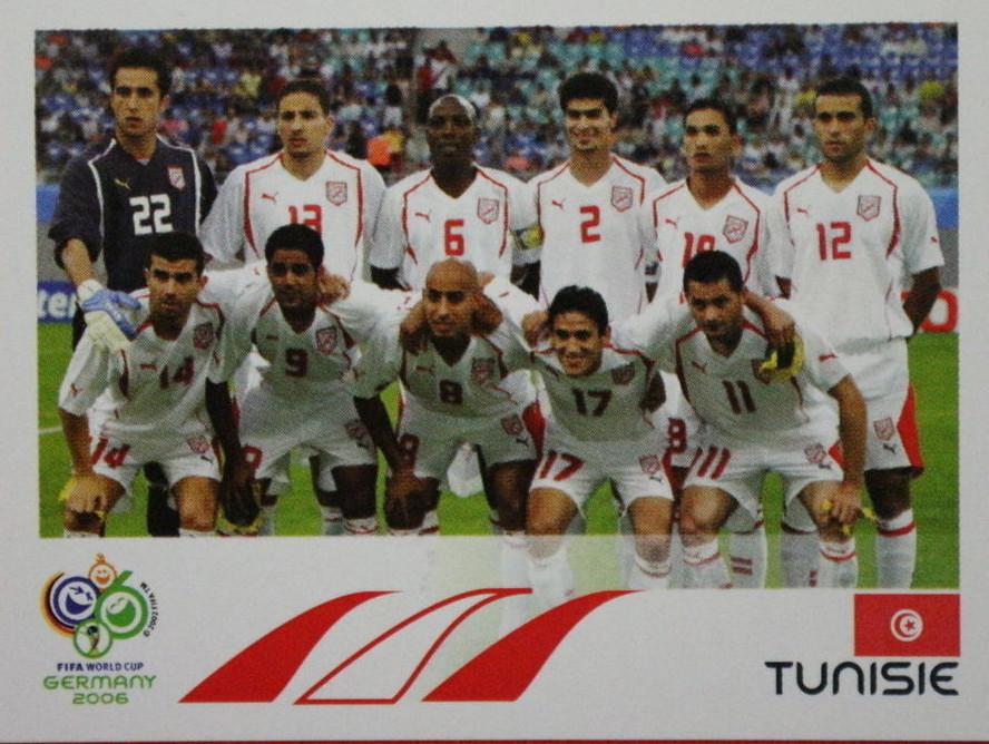 Team Photo Tunisie Fifa World Cup Germany 2006 568