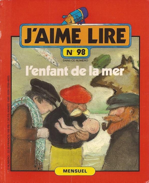 L'enfant de la mer - livre 098 J'aime lire