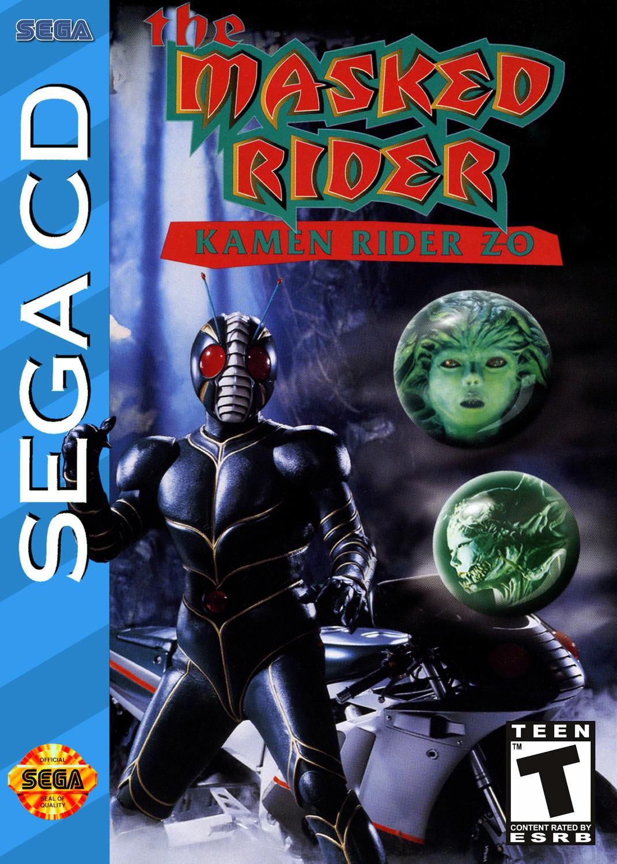 The Masked Rider: Kamen Rider ZO - SEGA Mega CD game