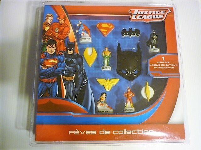 Justice Justice Fève Fève Coffret Coffret Collector Collector Leaguecarrefour kXuOPiZ