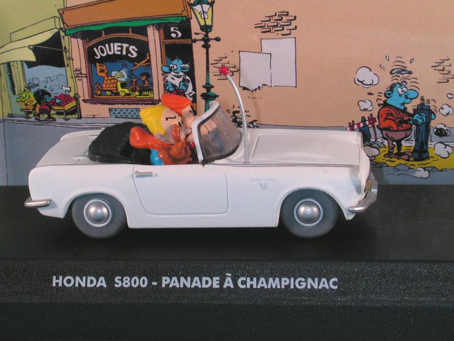 Spirou Panade Et À Voitures Champignac S800 Modèle Honda Les De XZPkiu