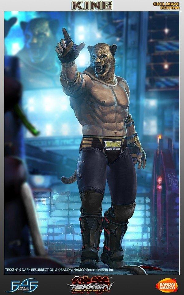 King Tekken 5 Dr Exclusive First4figures F4f Action Figure